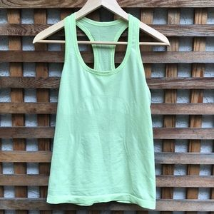 Lululemon Swiftly Tank Top Yellow 8